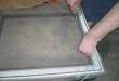 Háló rögzítő gumival való keretbe illesztése