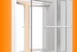 Toló-ajtós szúnyogháló szerkezet