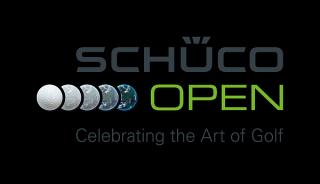 2009 óta megrendezett Schüco Open golfbajnokság logója